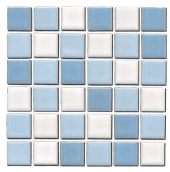 Blue White Blend Tiles